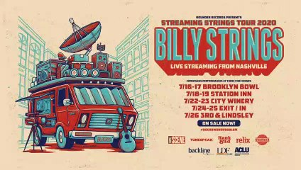 Billy Strings | Live Performance | 12PM ET | Relix