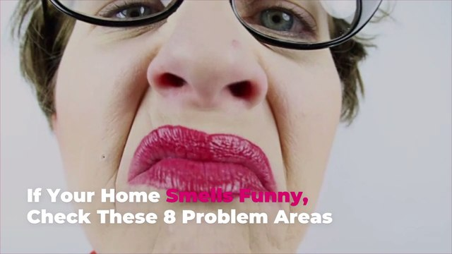 If Your Home Smells Funny, Check These 8 Problem Areas