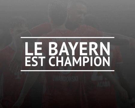 32e j. - Le Bayern décroche son 30e titre de champion d'Allemagne !