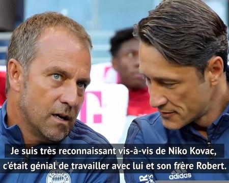32e j. - Flick remercie Kovac après le sacre du Bayern