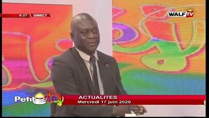 Actualité (avec Alioune Sow) - Petit Déj du mercredi 17 juin 2020