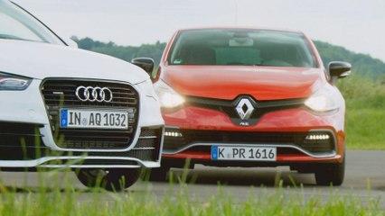 Audi A1 quattro vs Renault Clio RS