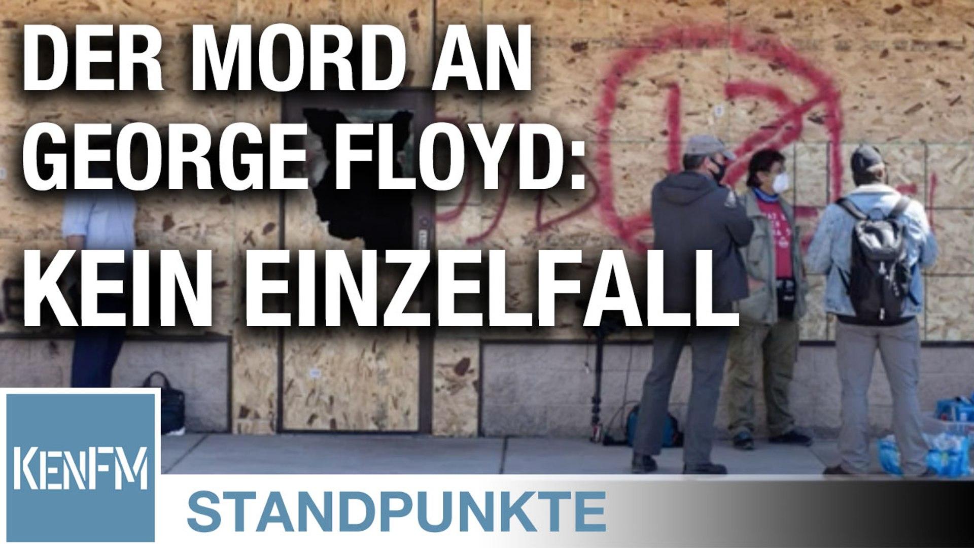 Der Mord an George Floyd: kein Einzelfall, ... • STANDPUNKTE