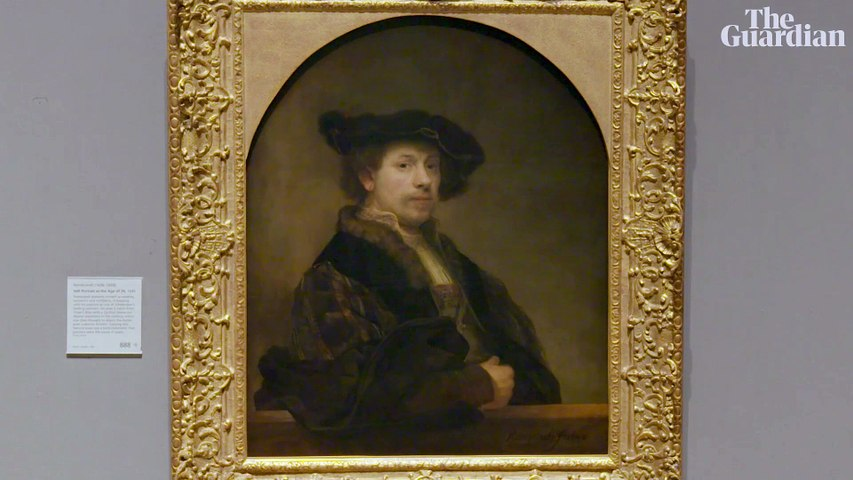 Love and loss: Rembrandt's portraits at the National Gallery – video