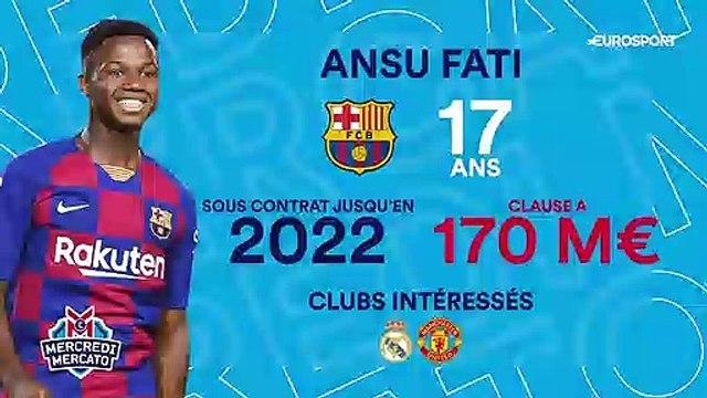 Clause à 170 millions et trois stars en danger : Fati, enjeu majeur du Barça