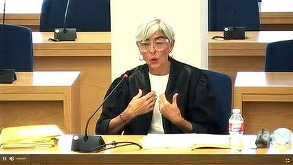 Olga Tubau s'emociona en la conclusió del seu informe final sobre Trapero i Laplana
