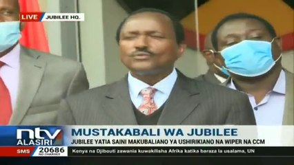 Kalonzo on Cabinet Position