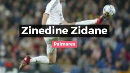Zidane : son palmarès