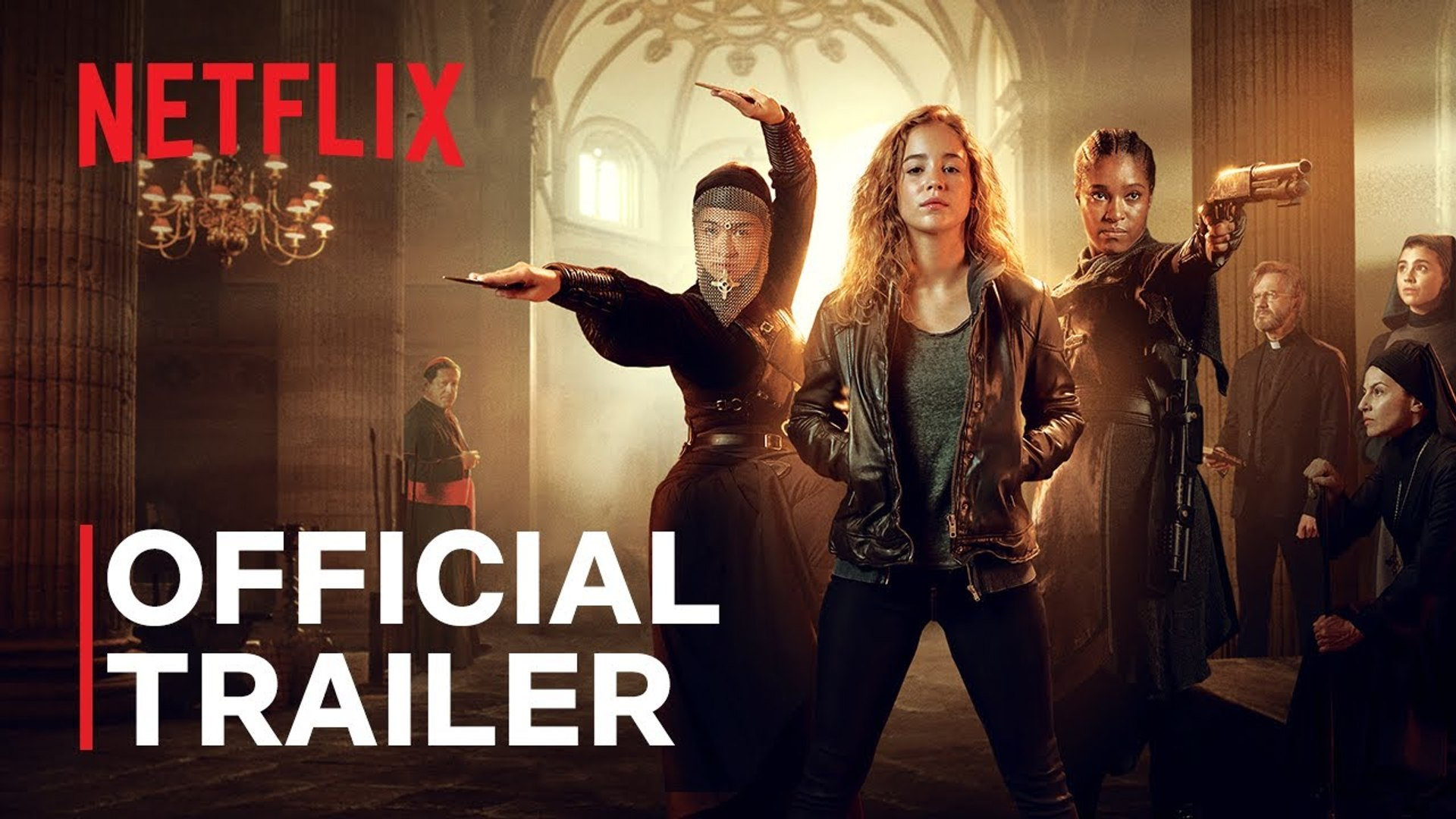 Warrior Nun (2020) - Bande-annonce de la série Netflix