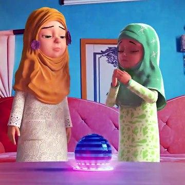 Aurton Ki  Namaz  Ka Tarika  - How to Pray Salah  for Girls  - Ghulam Rasool Cartoon