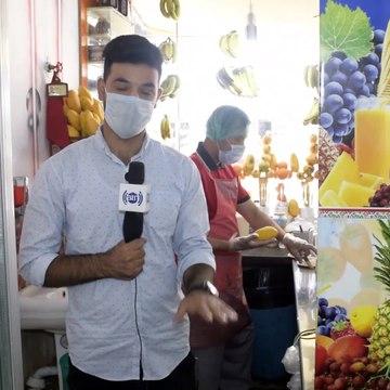 #ArianaMazar - Special Report about Banana Juice / گزارش ویژه با فروشنده جوس کیله در مزارشریف