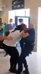 Bavure policière: une femme noire enceinte violentée en France… Samuel Eto'o en colère réagit