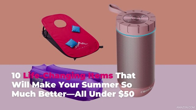 10 Life-Changing Items That Will Make Your Summer So Much Better—All Under $50