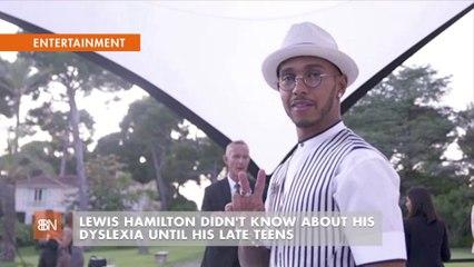 Lewis Hamilton's Dyslexia