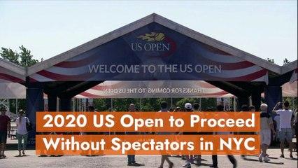 2020 US Open Is Happening