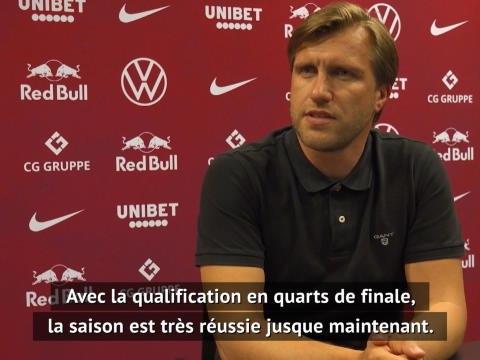 """C1 - Le directeur sportif de Leizpig """"heureux"""" de terminer la Ligue des Champions"""