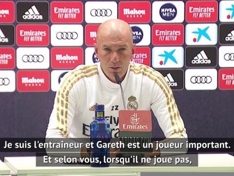 """Real - Zidane : """"Avec Bale, nous avons toujours eu une bonne relation"""""""