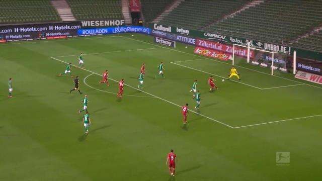 32e j. - Le Bayern décroche son 8eme titre de rang sur la pelouse du Werder