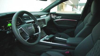 Audi e-tron Sportback اختبر التقدم من خلال الرؤية