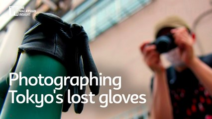 Photographing Tokyo's lost gloves