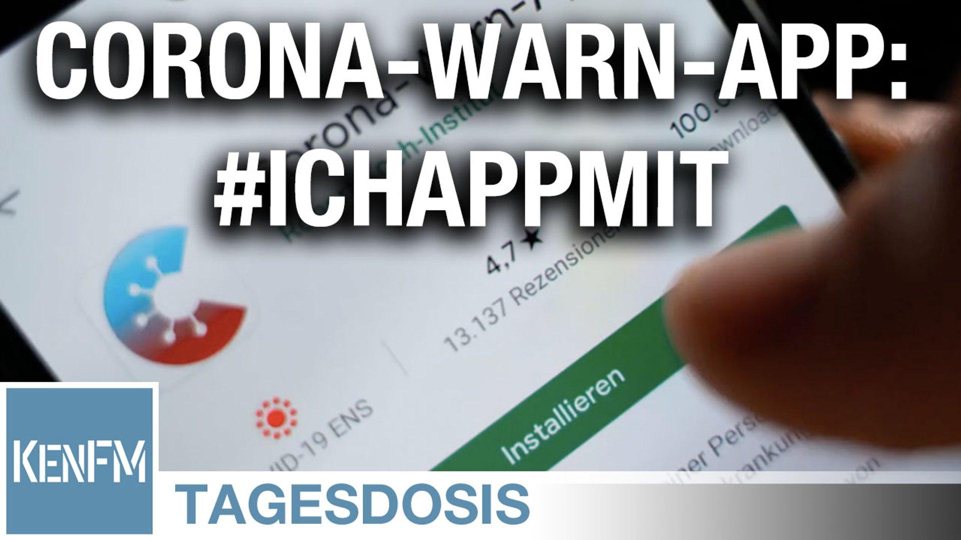 Corona-Warn-App: #IchAppMit - Neues von der Nudging Front - Tagesdosis 18.6.2020