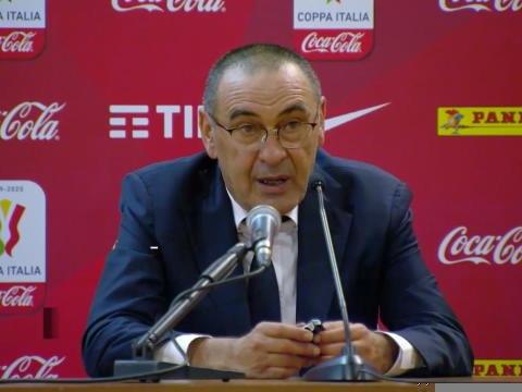 Finale - Sarri : ''Deux équipes en dessous de leur niveau habituel''