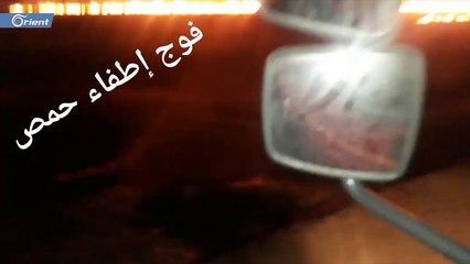 اندلاع 27 حريقا في حمص خلال 24 ساعة