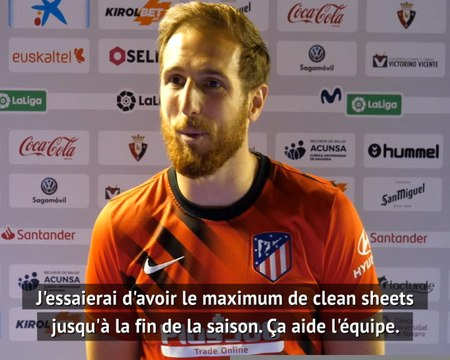 "29e j. - Oblak : ""Un maximum de clean sheets"""