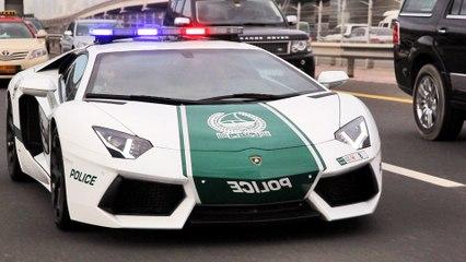 L'unité spéciale automobile de la police de Dubaï