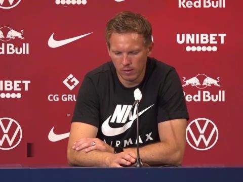 """32e j. - Nagelsmann : """"On assurera notre place en C1 contre Dortmund"""""""