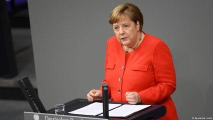 Pandemia e colapso econômico são maior desafio da Europa, diz Merkel