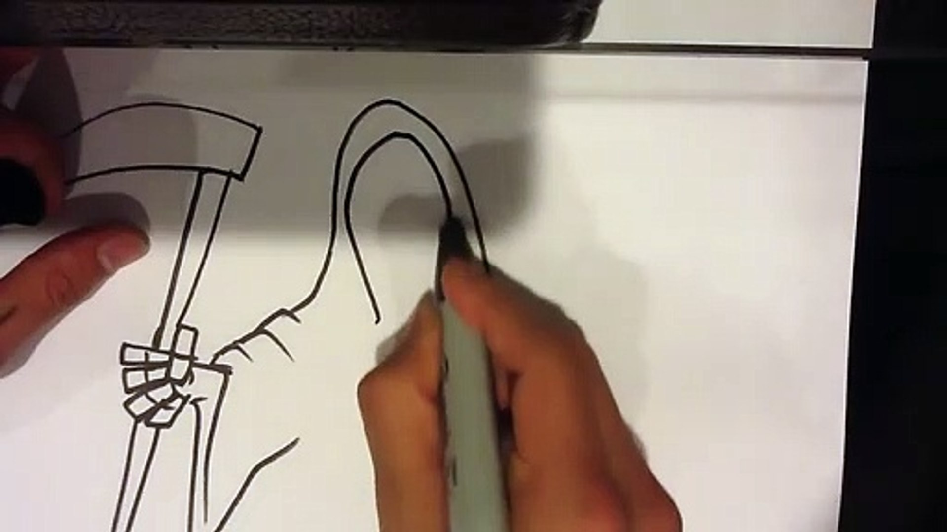 How to Draw Death - Easy Things To Draw
