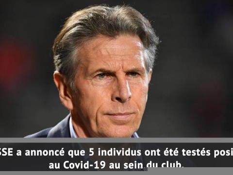 Ligue 1 - 5 cas de Covid-19 à l'ASSE