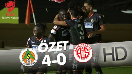 A. Alanyaspor  - F.T. Antalyaspor Ziraat Türkiye Kupası Maçının Özeti