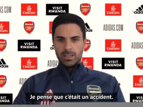 """Arsenal - Arteta : """"Il faut effacer le match contre City"""""""