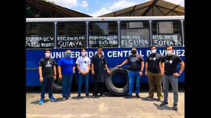 Tras condiciones adversas, estudiantes de la UCV logran regresar a sus hogares   El Nacional