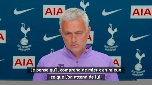 "30e j. - Mourinho : ""Ndombélé est prêt"""