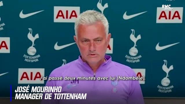 Tottenham : Mourinho raconte pourquoi il n'a pas respecté le confinement avec Ndombélé (et l'encense)