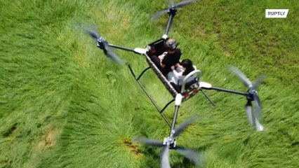 Octocopter aims to change city aviation