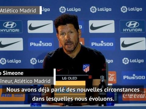"""30e j. - Simeone : """"Nous devons être compétitifs"""""""