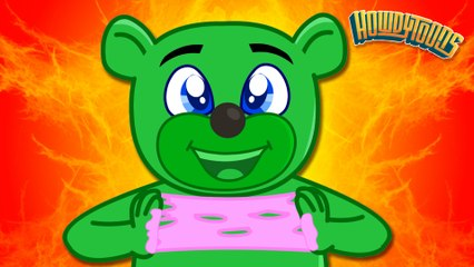 Sticky Sticky Bubble Gum | Bubble Gum Song for Kids by Howdytoons