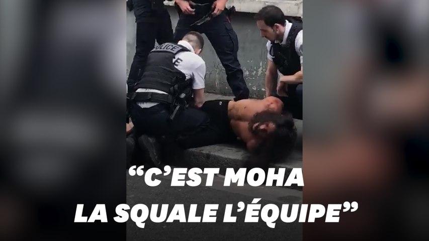 Le rappeur Moha La Squale en garde à vue à Paris