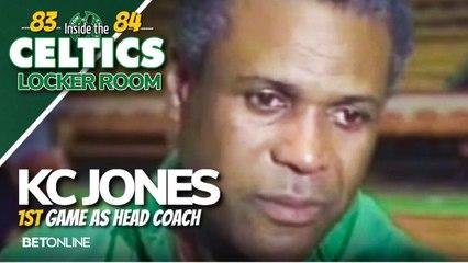 KC Jones Dealing w/ Media Scrutiny: Comparisons to Bill Fitch