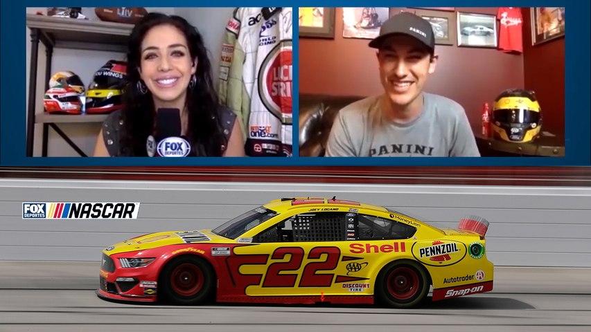 Entrevista a Joey Logano de NASCAR