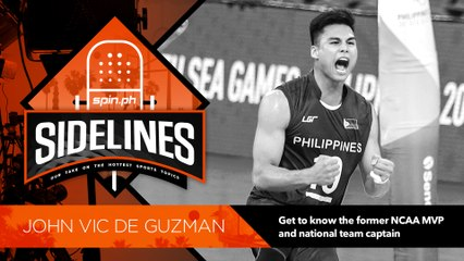 SPIN Sidelines with former NCAA MVP and national team captain John Vic De Guzman