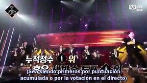 [SUB.ESPAÑOL] 200618 Mnet 'Road to Kingdom' EP8 (final) (Parte 1/3)