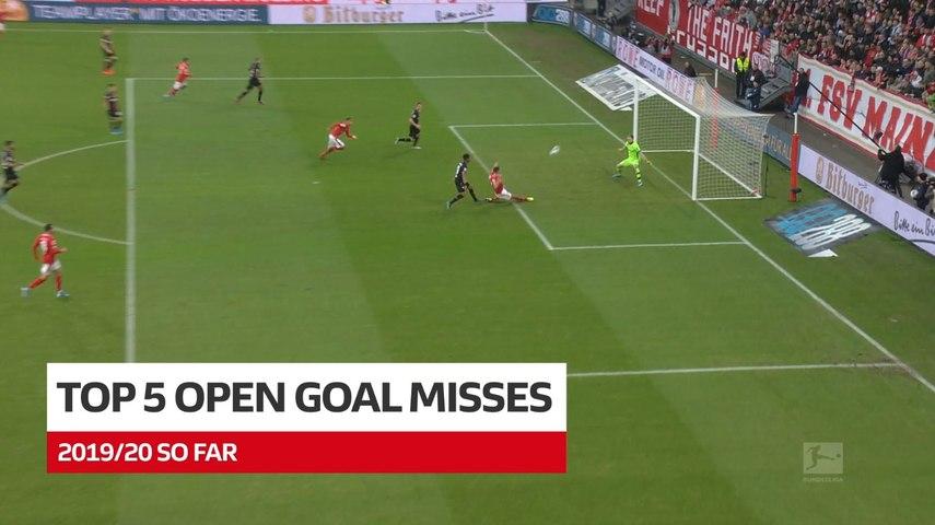 Lewandowski, Alcácer and Co. | Top 5 misses of 2019/20 so far