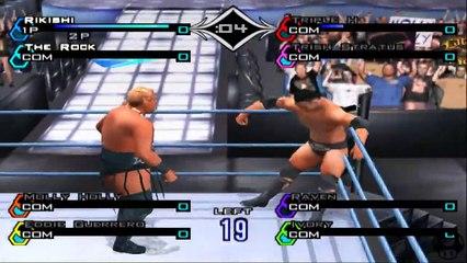 WWF SmackDown! Just Bring It - Rikishi Royal Rumble