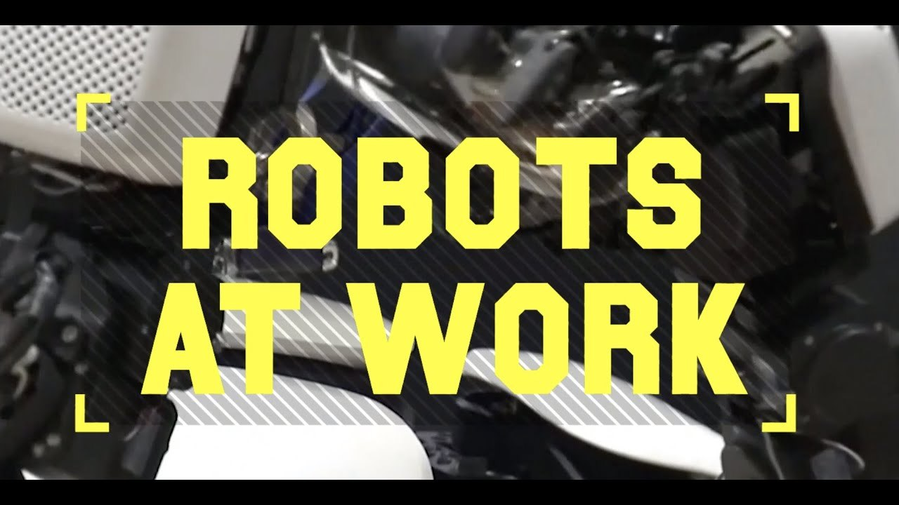 Robots at Work: Space Robonauts