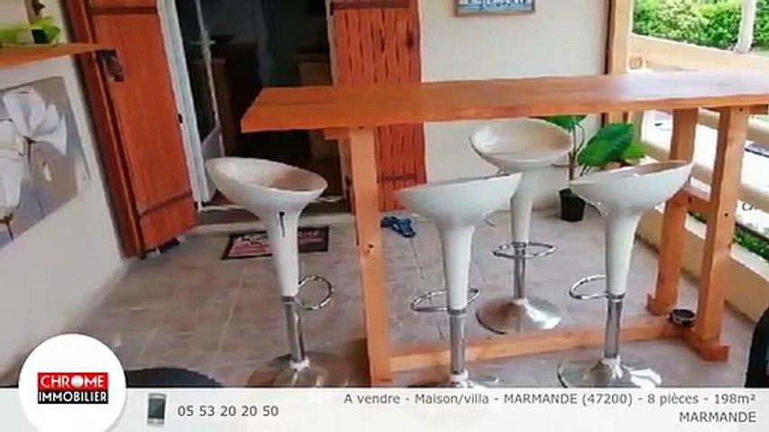 A vendre - Maison/villa - MARMANDE (47200) - 8 pièces - 198m²